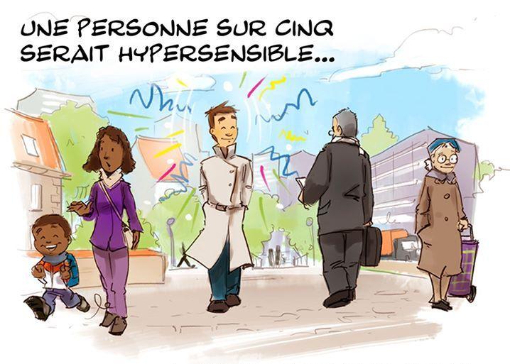 Hypersensibilité: un bon croquis vaut mieux qu'un long discours!